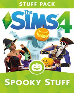 ESD The Sims 4 Strašidelné věcičky