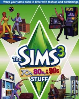 ESD The Sims 3 70s, 80s and 90s Stuff