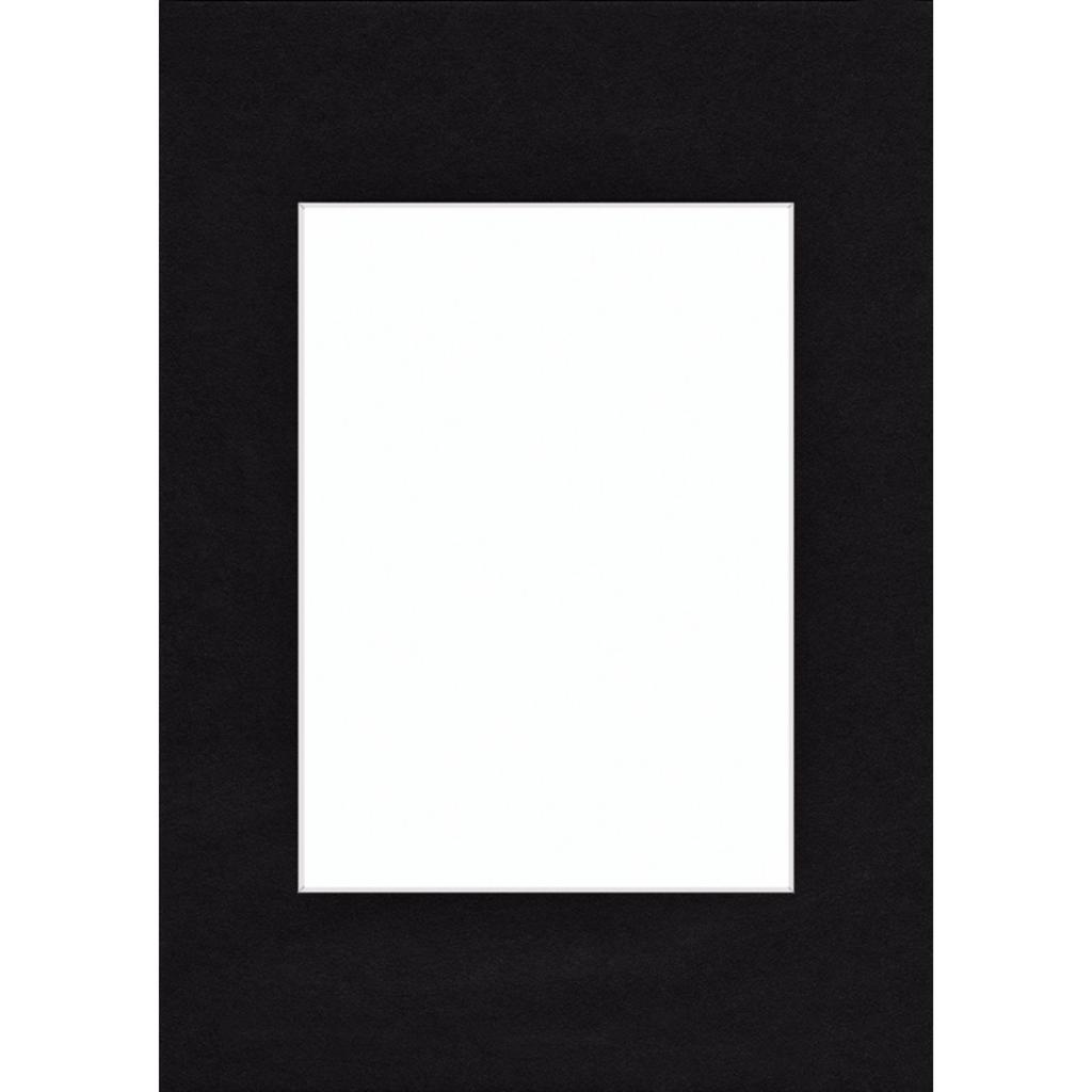 Hama pasparta, barva černá, 40x50 cm/ 28x35 cm