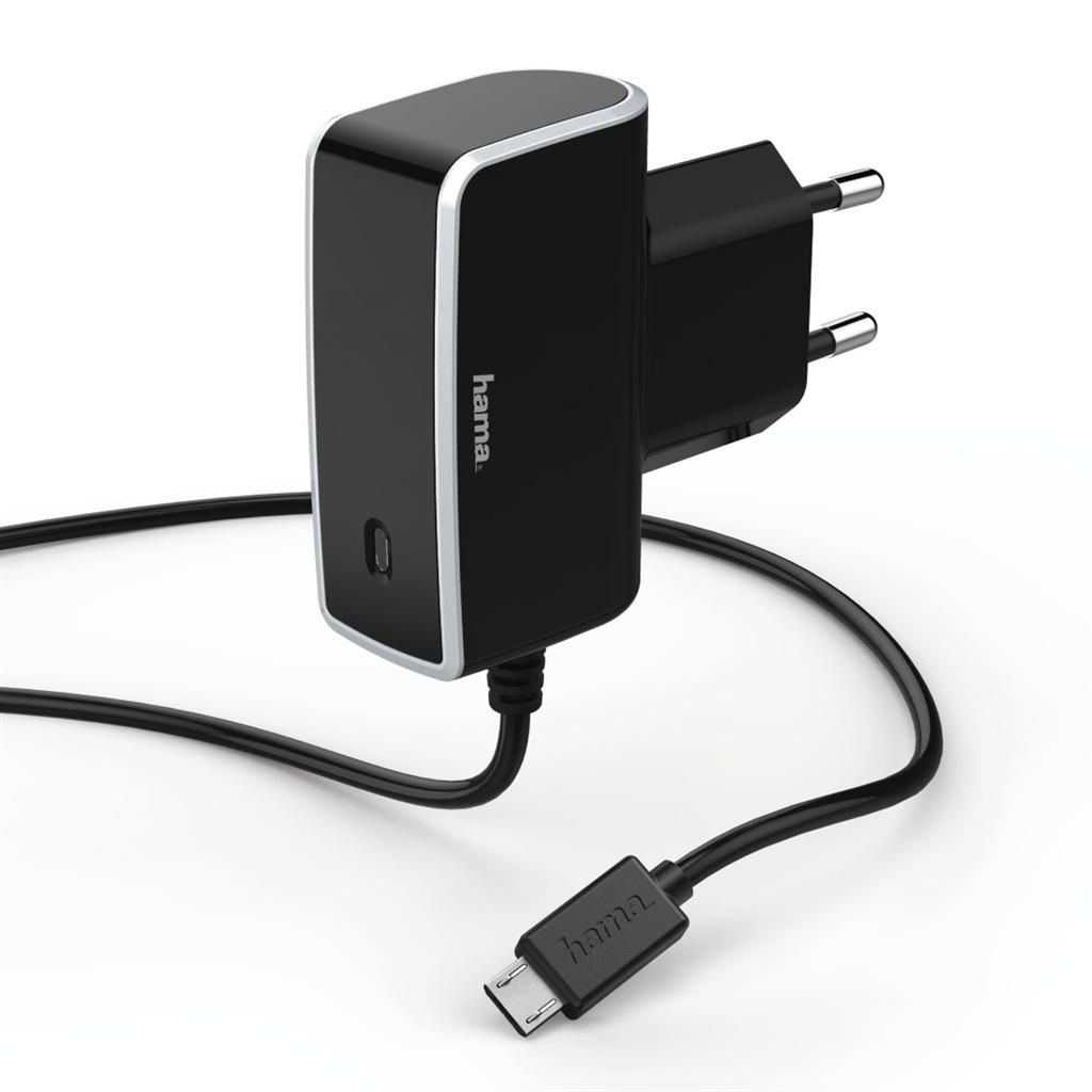 Hama cestovní nabíječka, micro USB