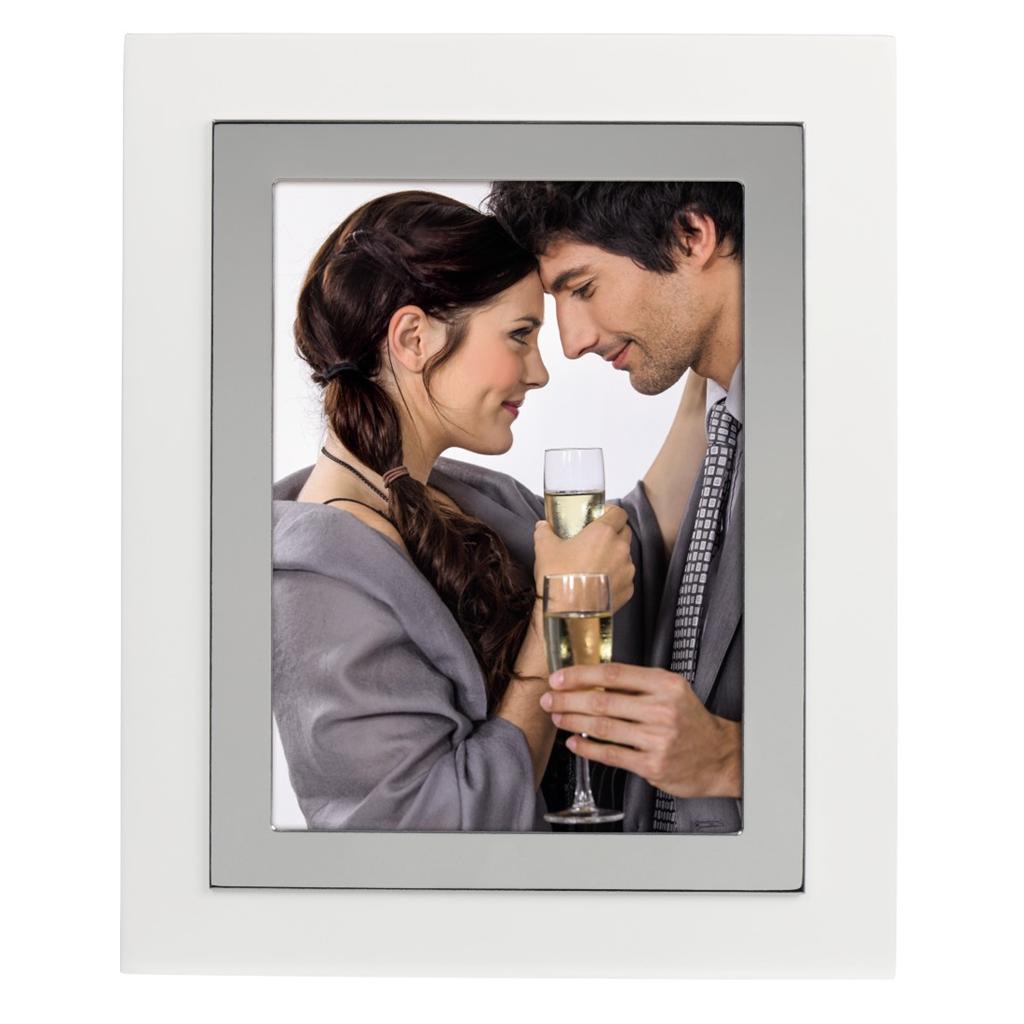 Hama portrétový rámeček Valdez 13x18 cm, stříbrný