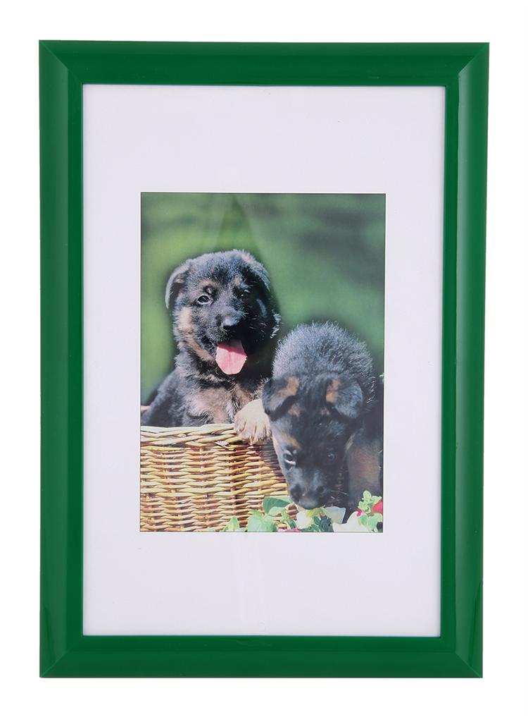 Hama rámeček plastový PALMA, zelený, 20x30cm