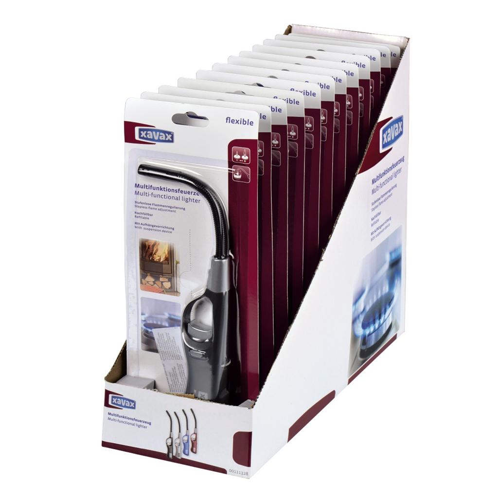 Xavax multifunkční zapalovač, ohebný, 12 ks v balení (cena za kus)