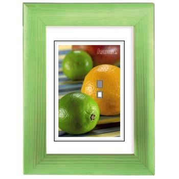 Hama rámeček dřevěný LIVORNO, zelený, 40x50cm