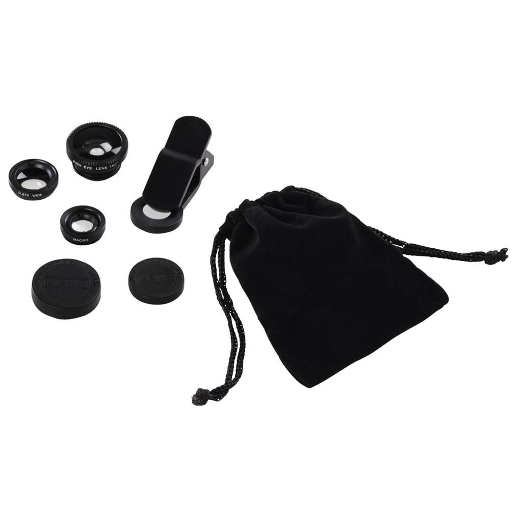 Hama 3v1 Uni set objektivů pro mobily a tablety