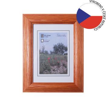 Hama 1219 rámeček dřevěný LORETA, třešeň, 13x18 cm