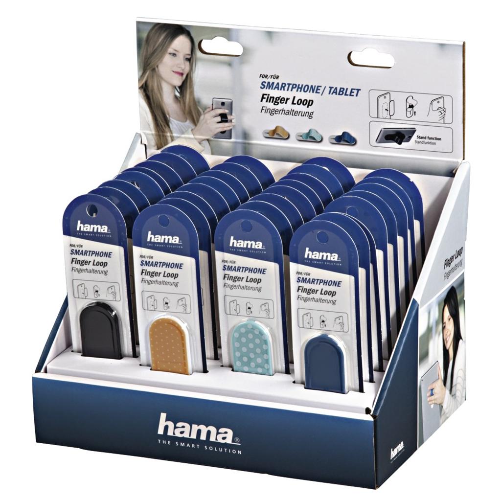 Hama poutko na prst pro mobil/tablet, mix barev