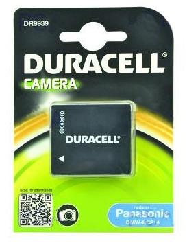DURACELL Baterie - DR9939 pro Panasonic DMW-BCF10, černá, 700 mAh, 3.7V