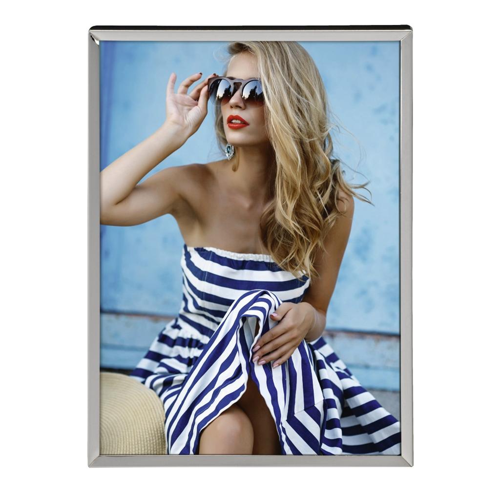Hama portrétový rámeček Anaheim, 10x15 cm, stříbrný