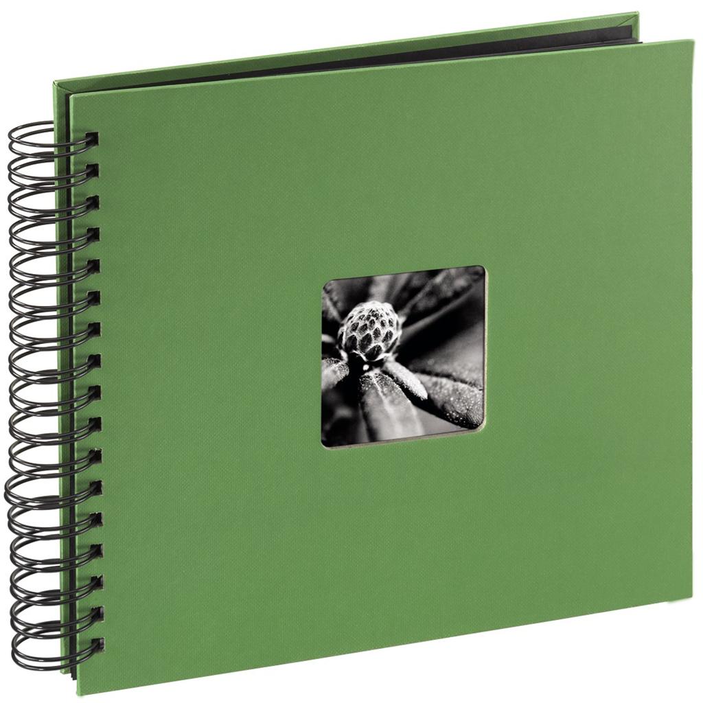 Hama album klasické spirálové FINE ART 28x24 cm, 50 stran, jablečná zeleň