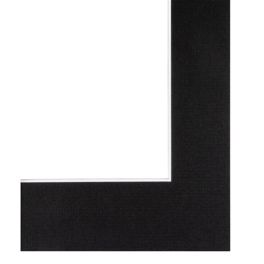 Hama pasparta černá, 30x40 cm/ 20x30 cm