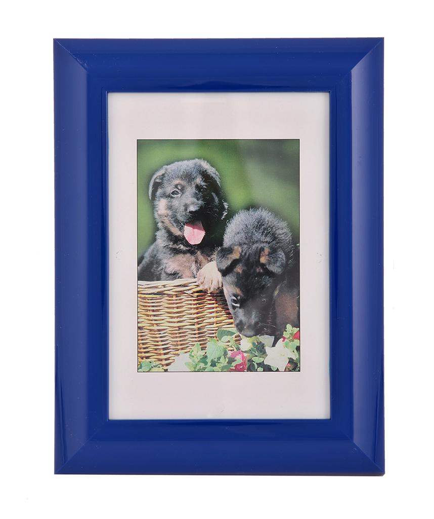 Hama rámeček plastový PALMA, modrý, 10x15cm