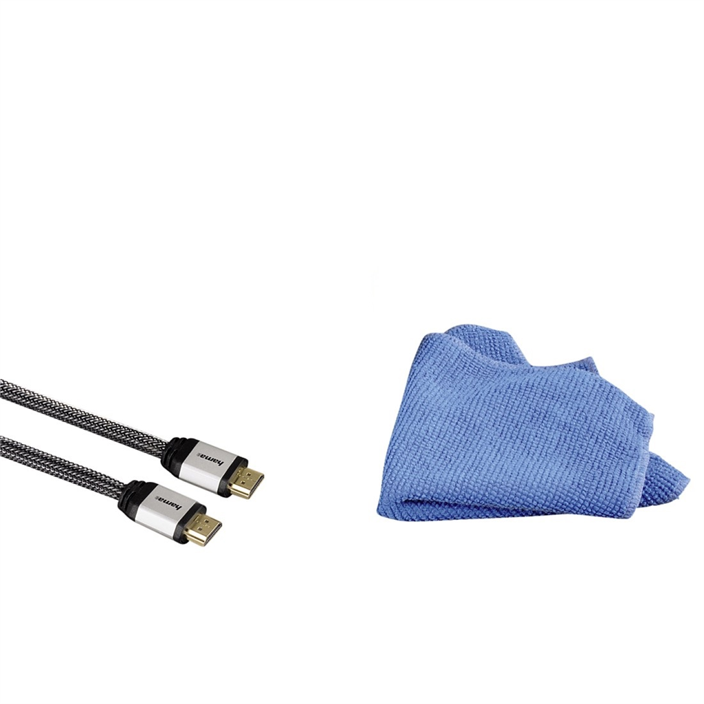 Hama TV set: HDMI kabel s utěrkou
