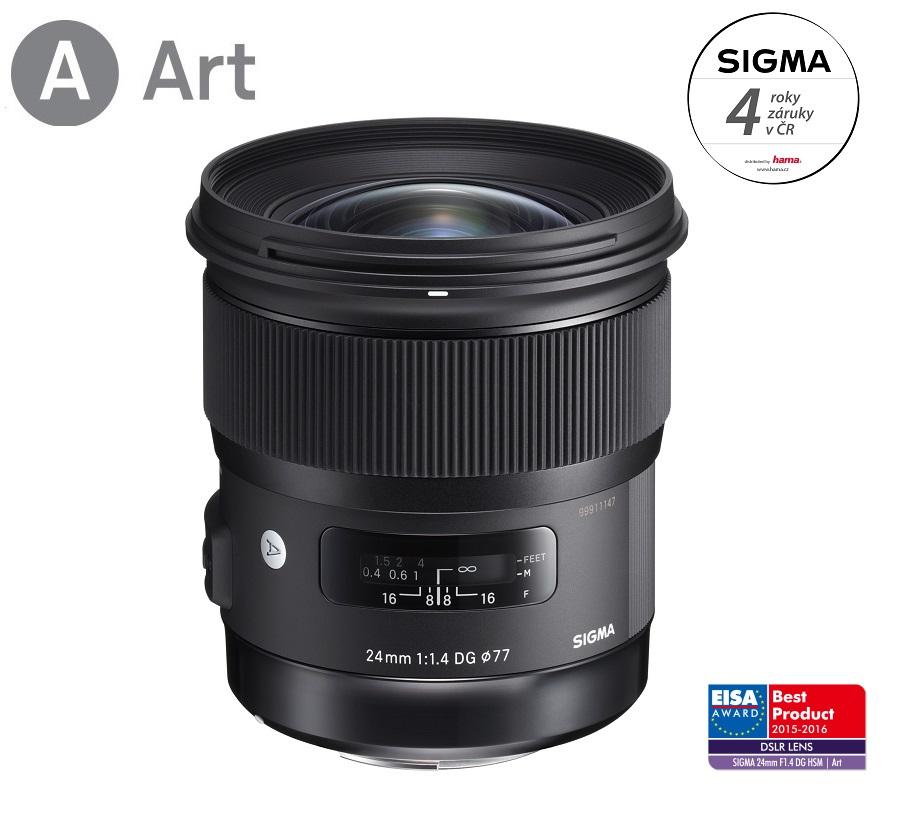 SIGMA 24/1.4 DG HSM ART Canon EF mount