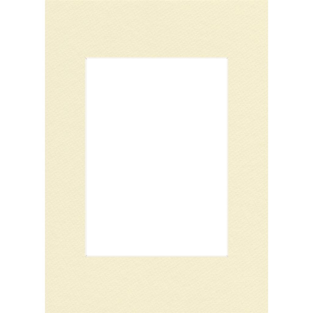 Hama pasparta, barva slonová kost, 40x50 cm/ 28x35 cm