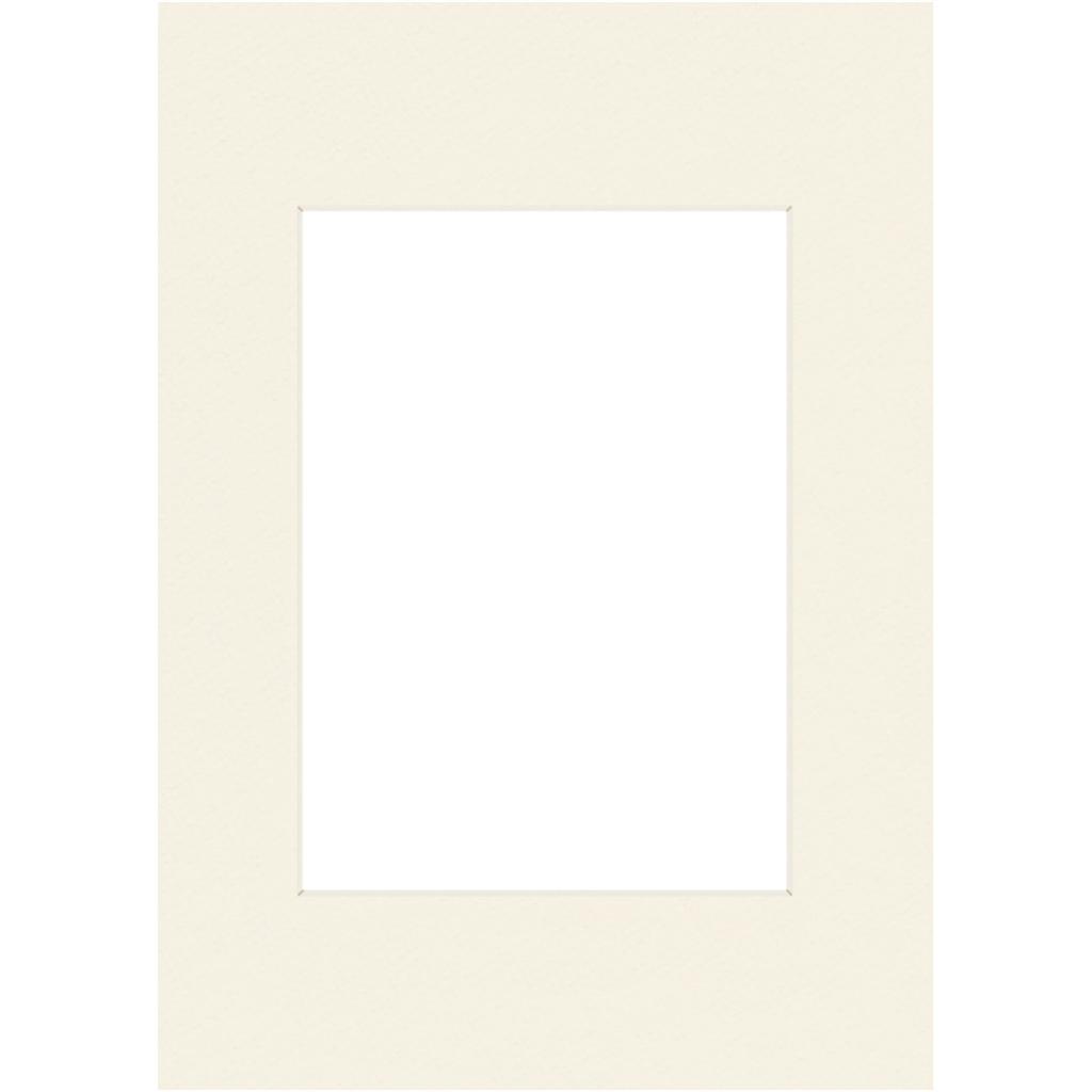 Hama Premium Passepartout, Snow, 13 x 18 cm