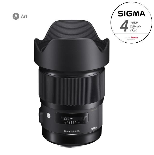 SIGMA 20/1.4 DG HSM ART Nikon F mount