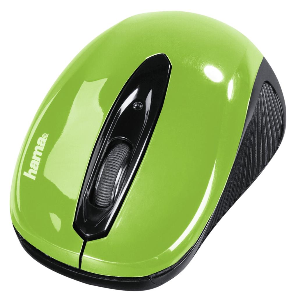 """Hama optická myš """"AM-7300"""", černá/zelená"""