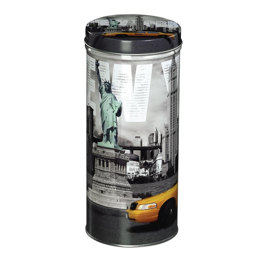 Xavax New York kovová dóza, 6 v balení (cena uvedená za 1 ks)