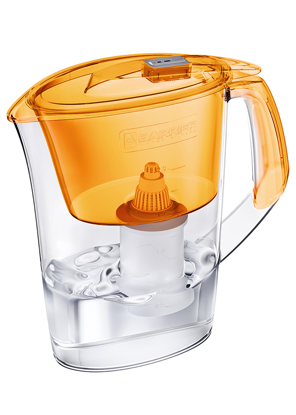 BARRIER Style filtrační konvice na vodu, oranžová