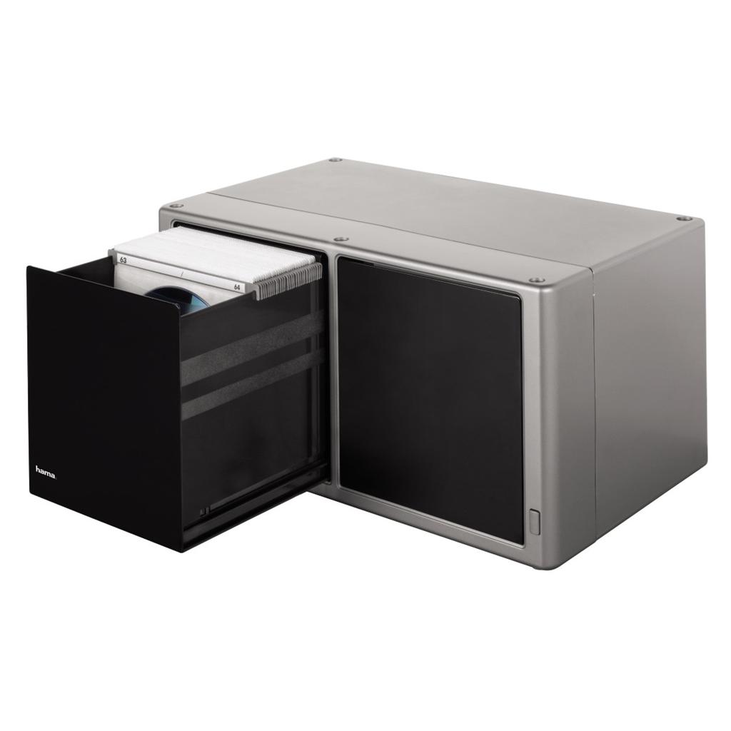 043e81570 Hama plastový CD box Magic Touch 120, stříbrný