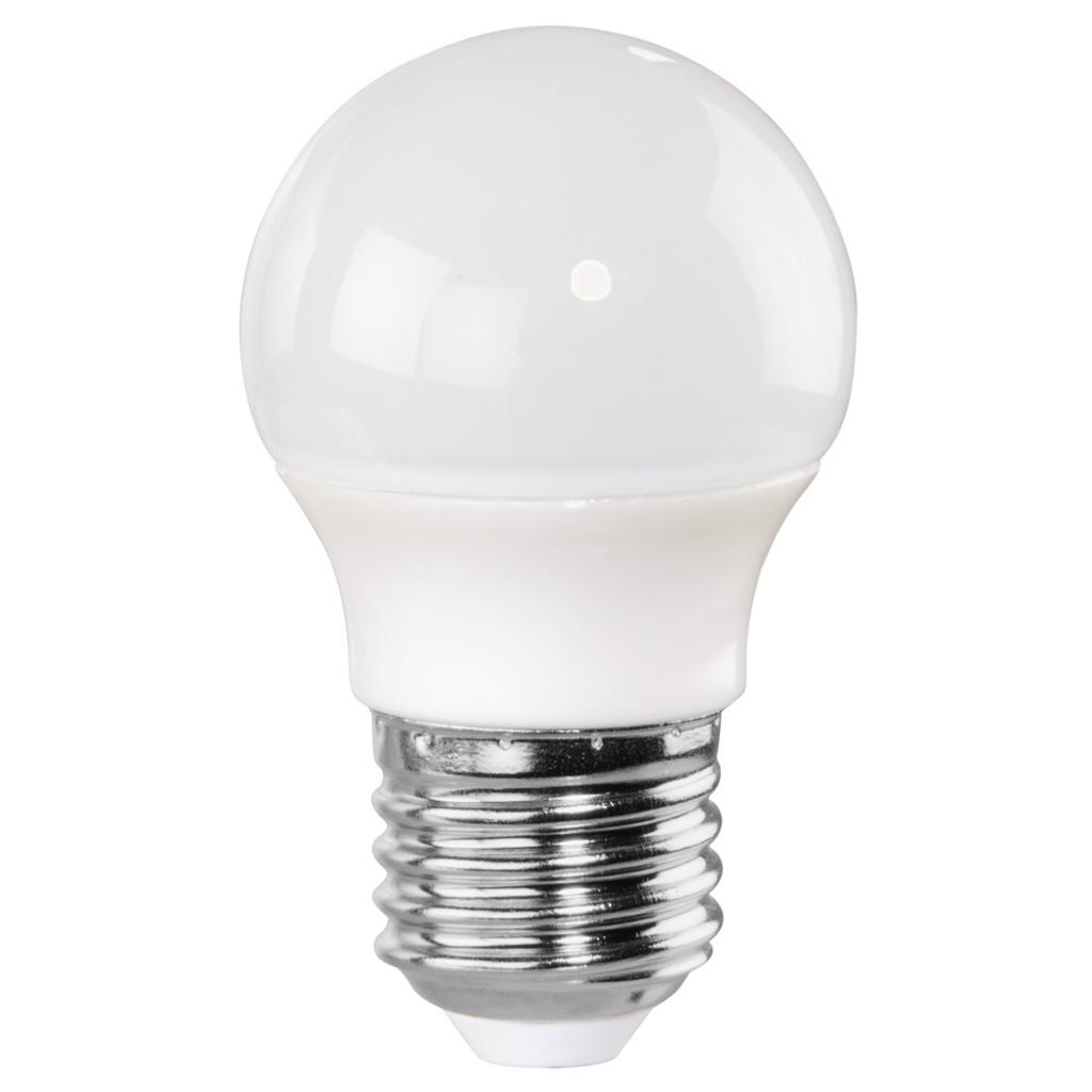 Xavax LED Bulb, 6W, drop shape, E27, warm white