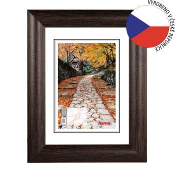 Hama rámeček dřevěný BIBIONE, wenge, 13x18 cm