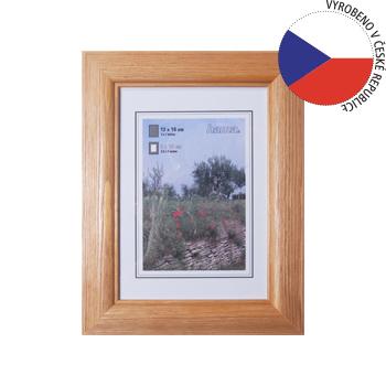 Hama 1244 rámeček dřevěný LORETA, ořech, 15x20 cm