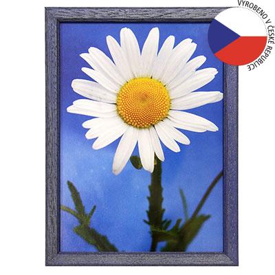 Hama 1119 rámeček dřevěný TRAVELLER II, modrý, 9x13cm