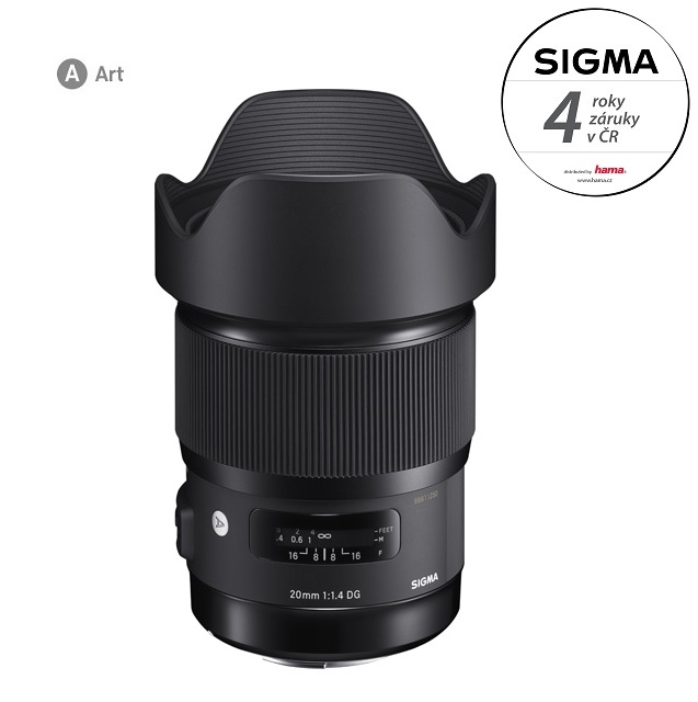 SIGMA 20/1.4 DG HSM ART Canon EF mount