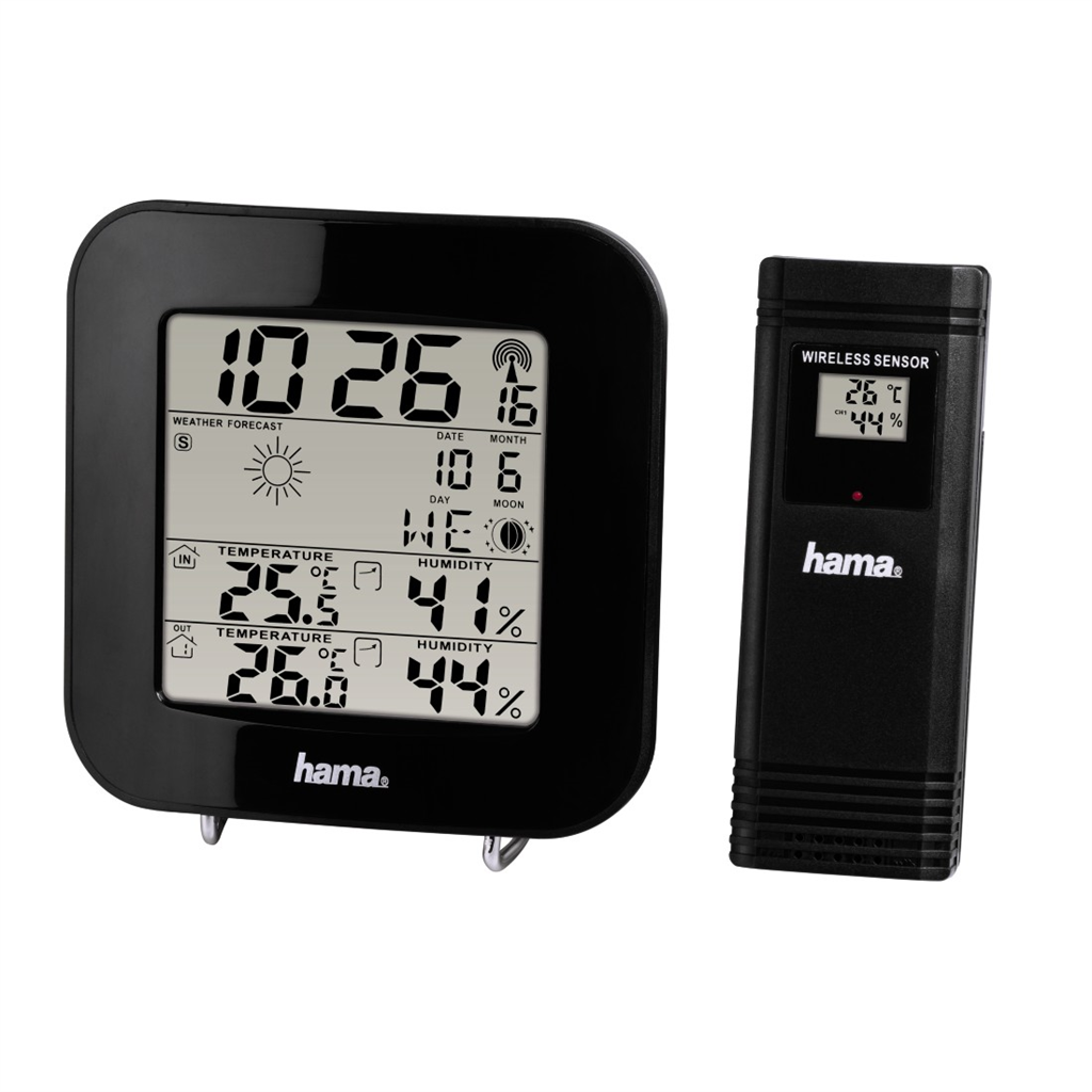 Hama EWS-200 meteostanice, černá