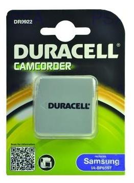 DURACELL Baterie - DR9922 pro Samsung IA-BP85ST, šedá, 720 mAh, 7.4V