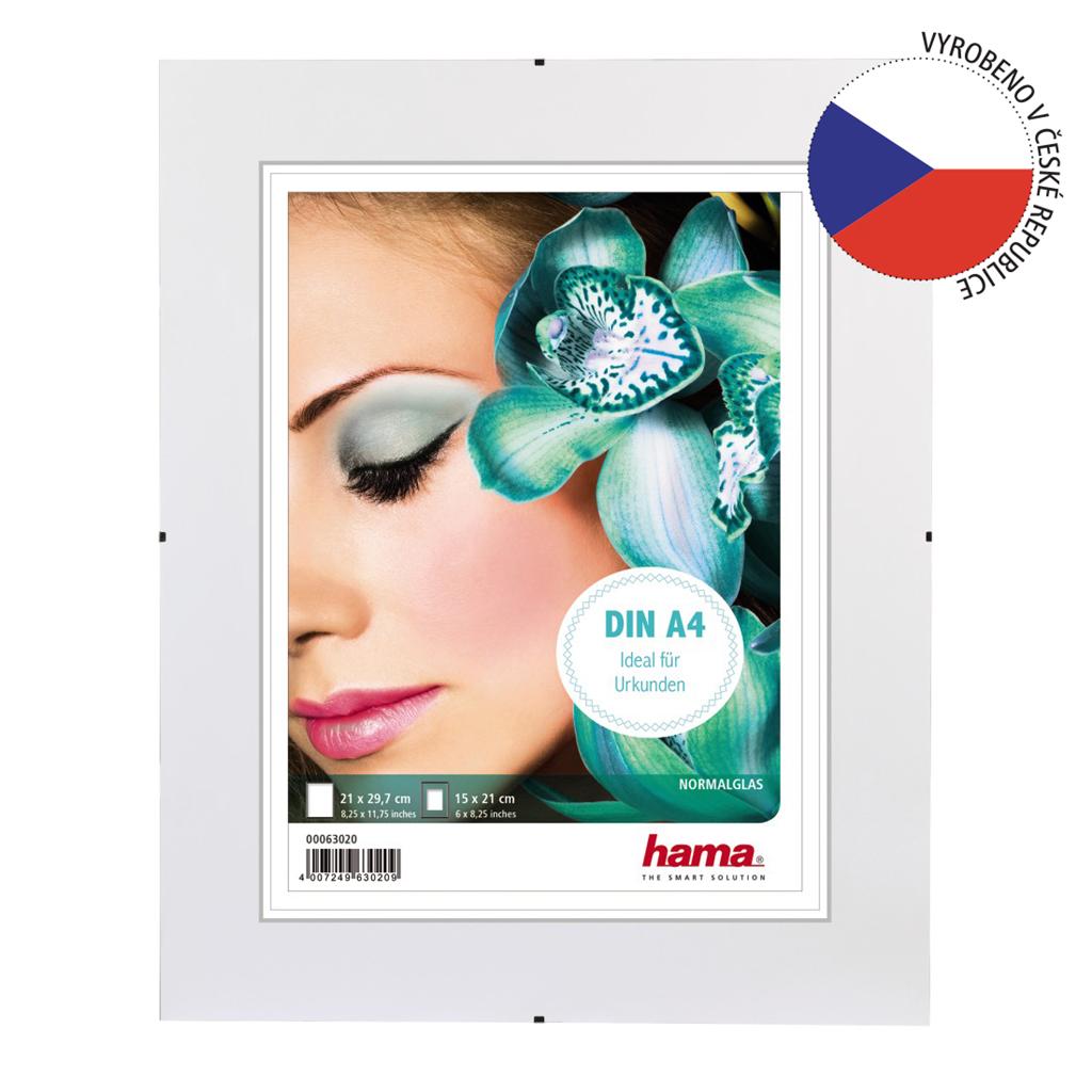 Clip-Fix, normální sklo, 21x29,7cm
