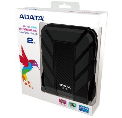 """ADATA HD710 2TB External 2.5"""" HDD Black"""