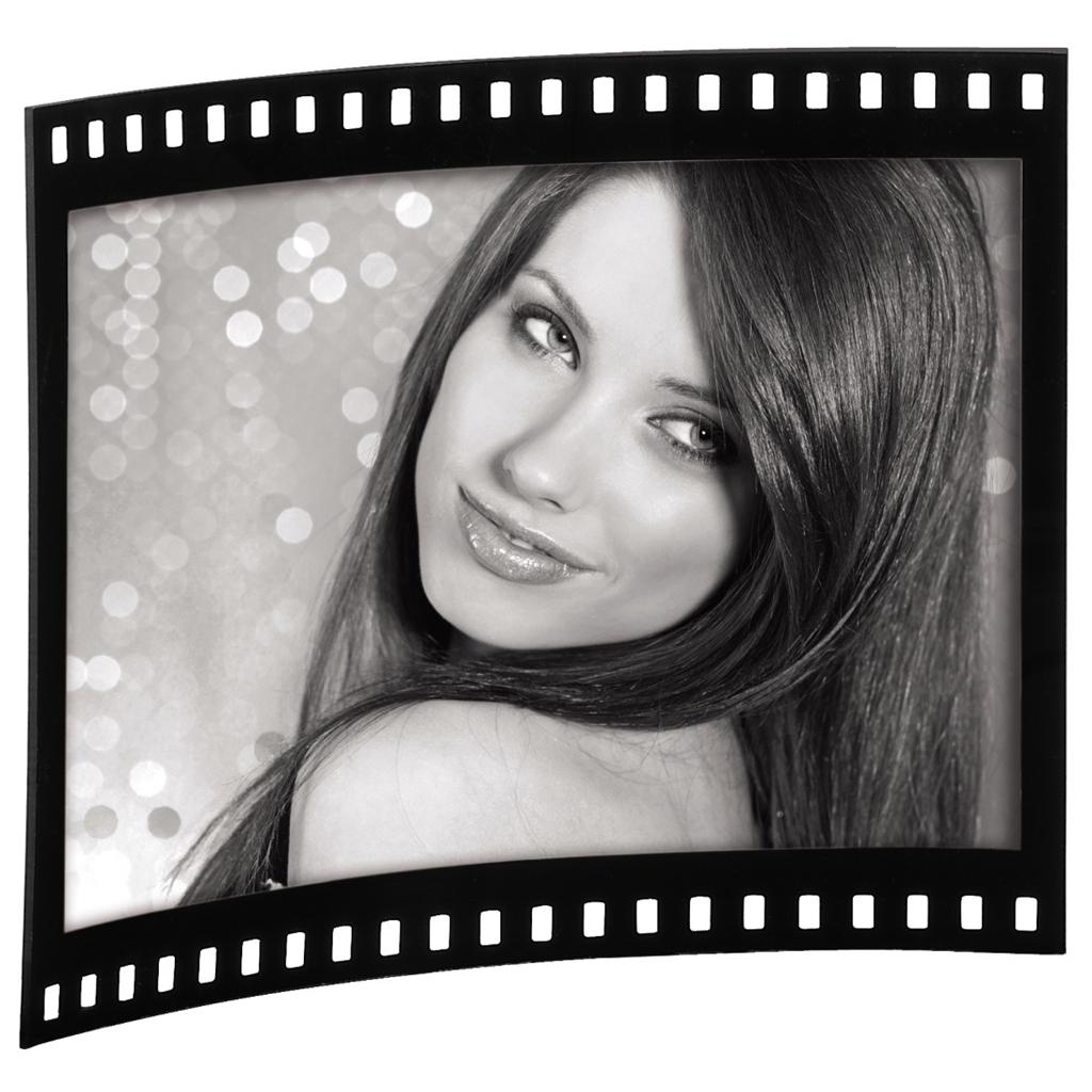Hama portrétový rámeček Film, 10x15 cm, akrylový, na šířku