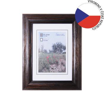 Hama 1235 rámeček dřevěný LORETA, wenge, 13x18 cm