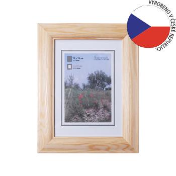 Hama rámeček dřevěný LORETA, přírodní, 18x24cm