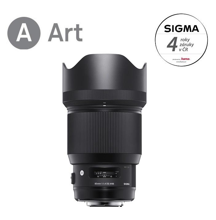 SIGMA 85/1.4 DG HSM ART Nikon F mount
