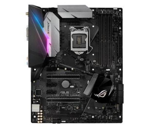 ASUS MB Sc LGA1151 STRIX Z270E GAMING, Intel Z270, 4xDDR4, VGA, Wi-Fi, BT