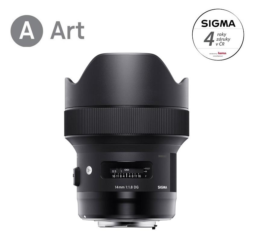 SIGMA 14/1.8 DG HSM ART Canon EF mount