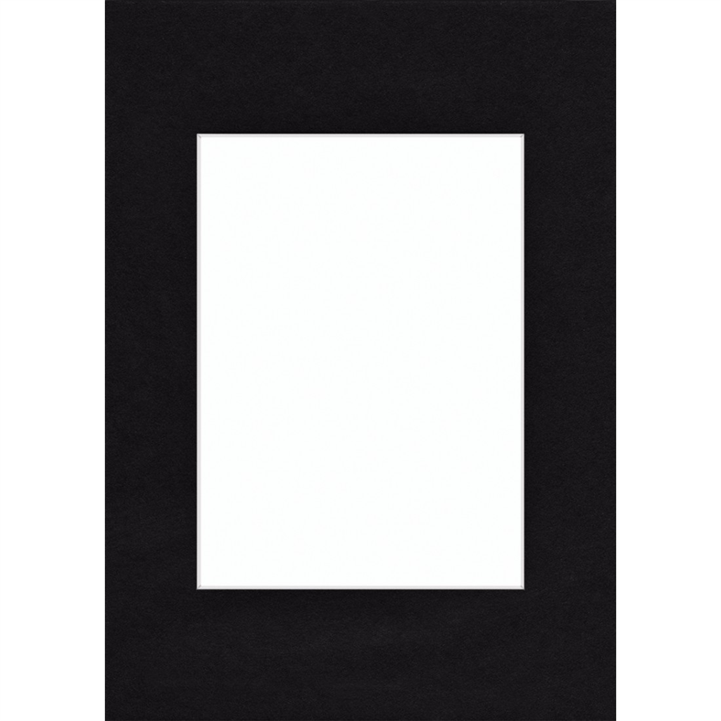 Hama pasparta černá, 60 x 80 cm
