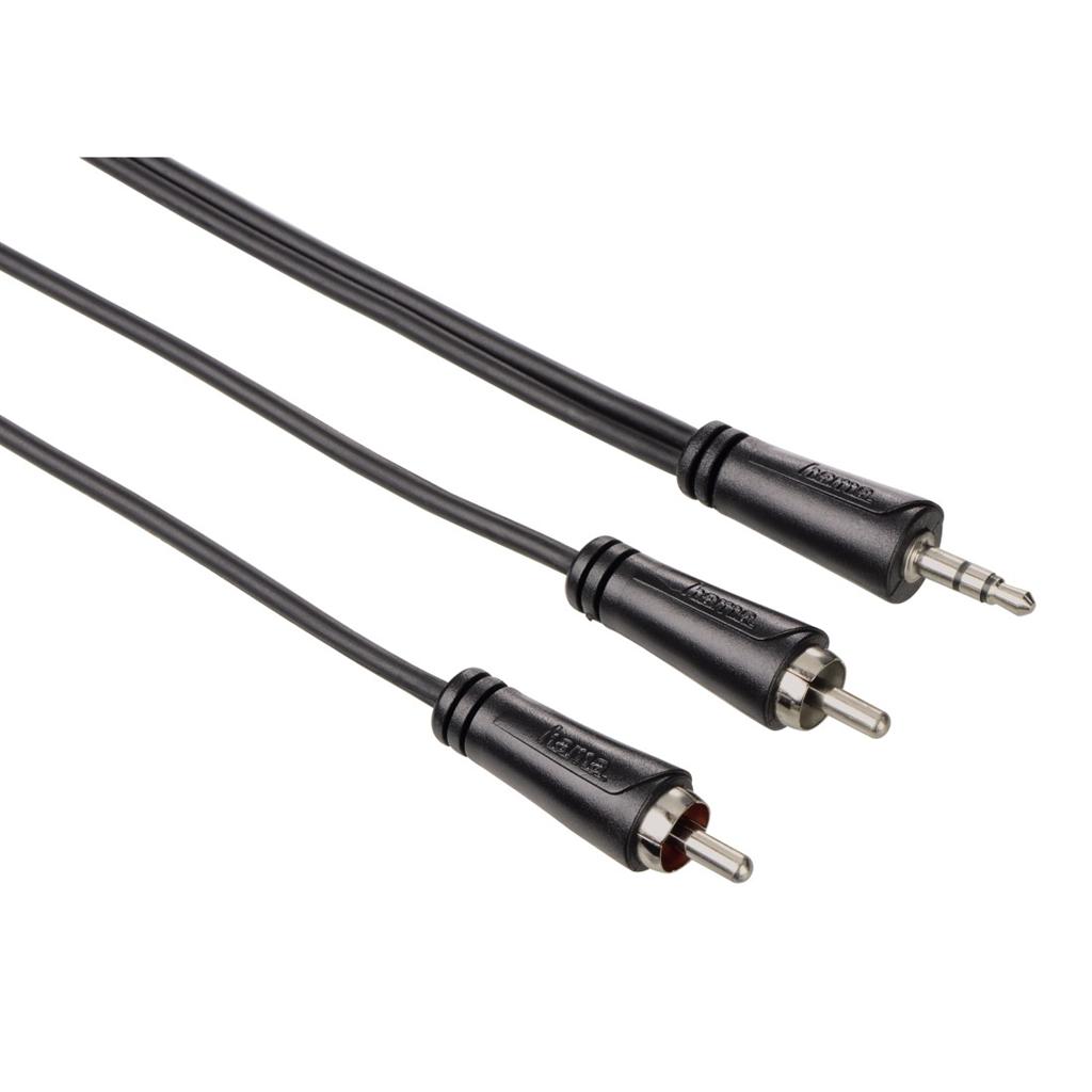 Hama audio kabel jack - 2 cinch, 1*, 5 m