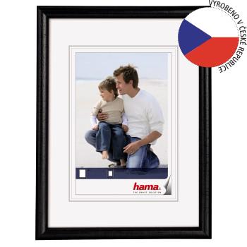 Hama 1152 rámeček dřevěný OREGON, černá, 15x21cm