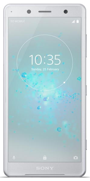 Sony Xperia XZ2 Compact DS H8324 White Silver