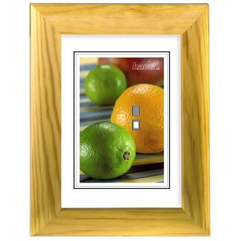 Hama rámeček dřevěný LIVORNO, žlutý, 40x50cm