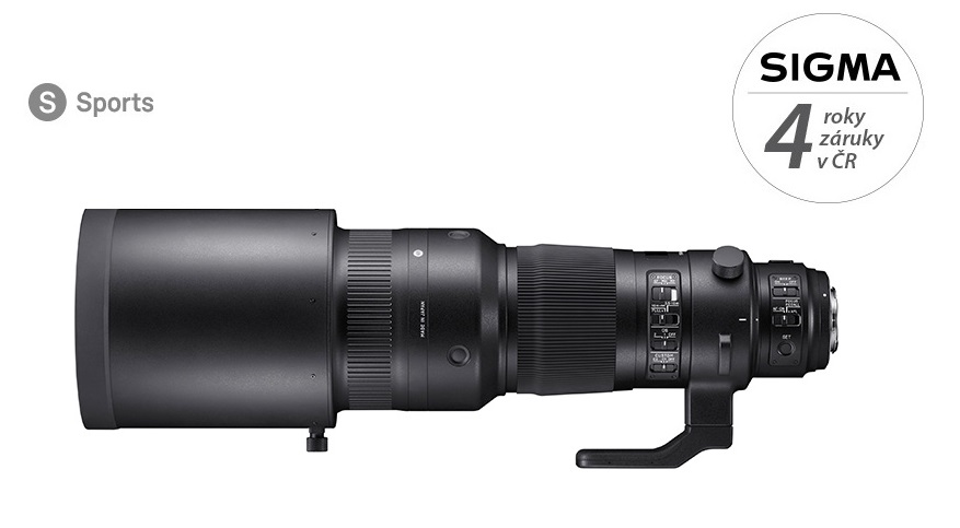 SIGMA 500/4 DG OS HSM Sports Canon EF mount