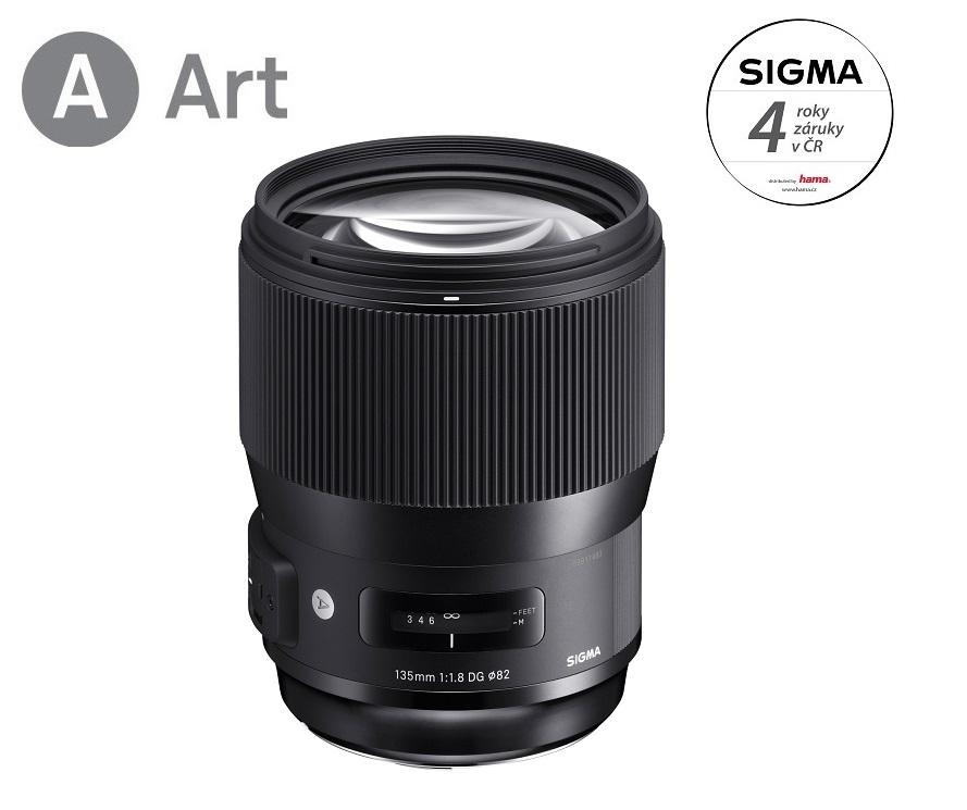 SIGMA 135/1.8 DG HSM ART Nikon F mount