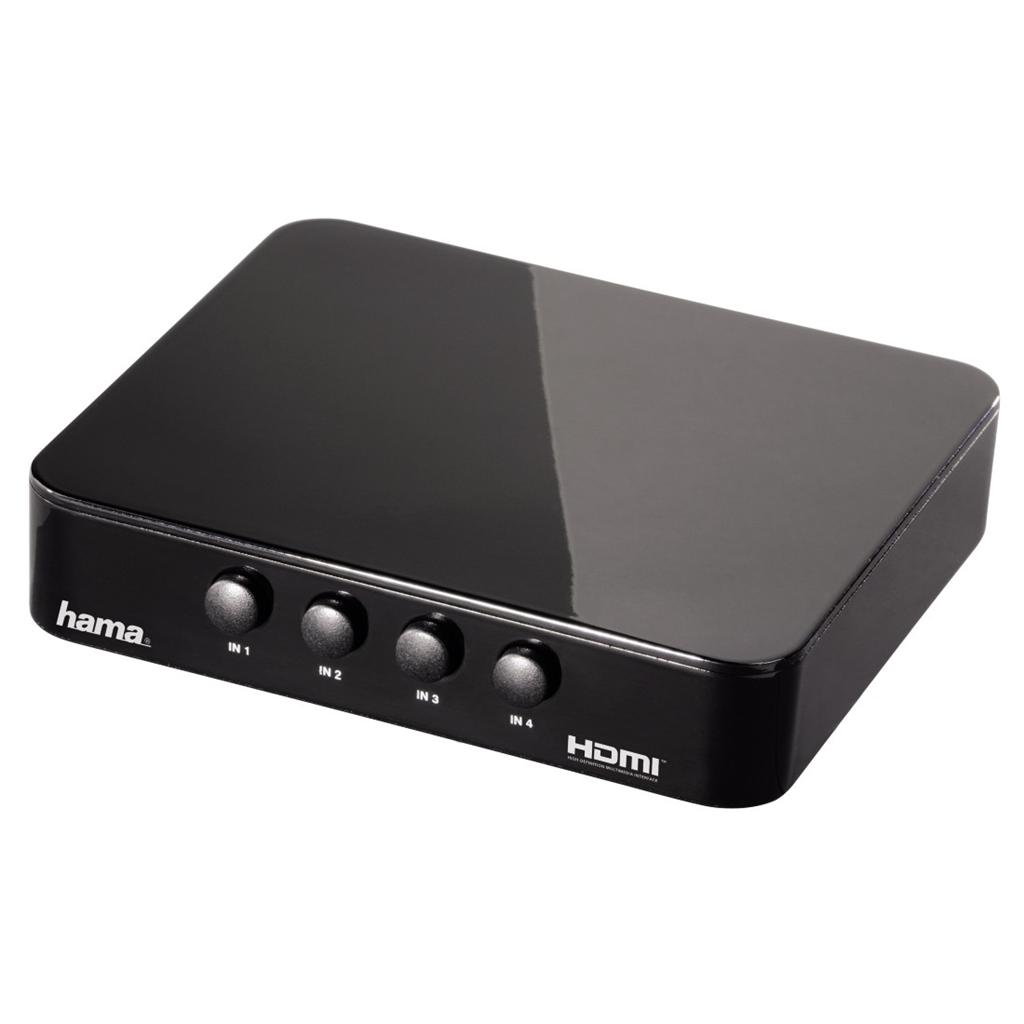 Hama HDMI přepínač G-410, 4 vstupy