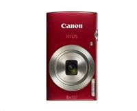 """Canon IXUS 185 RED - 20MP, 8x zoom, 28-224mm, 2,7"""", HD video"""