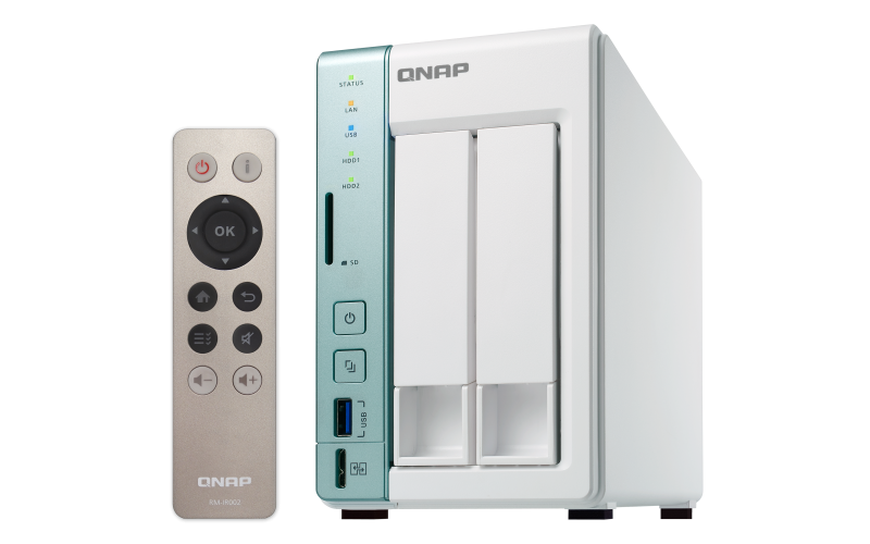 QNAP TS-251A-2G + ASUS Cerberus iCafe